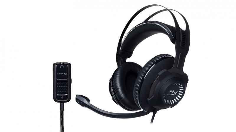 The HyperX features signature memory foam and premium leatherette on the ear cups and head band.