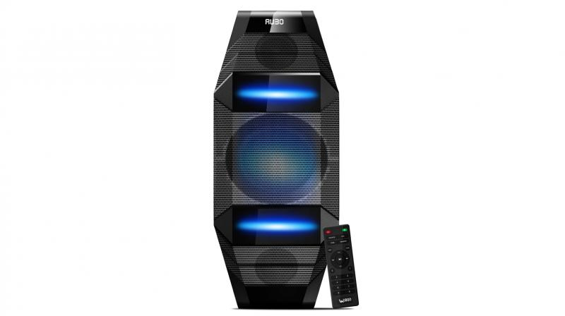 The speaker is capable of delivering an output of 1000W PMPO.