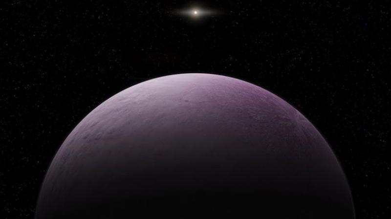 The Carnegie Institution's Scott Sheppard said the object is so far away and moving so slowly it will take a few years to determine its orbit. (Photo: AP)