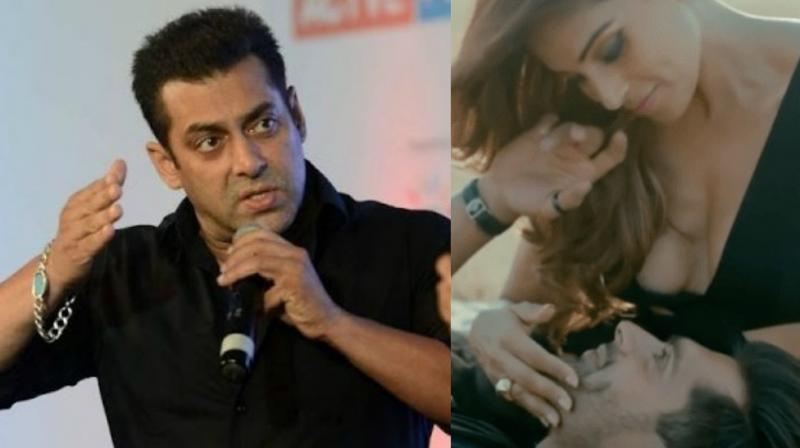 Salman Khan becomes the latest to bring advertisement featuring Bipasha Basu and Karan Singh Grover in the news.