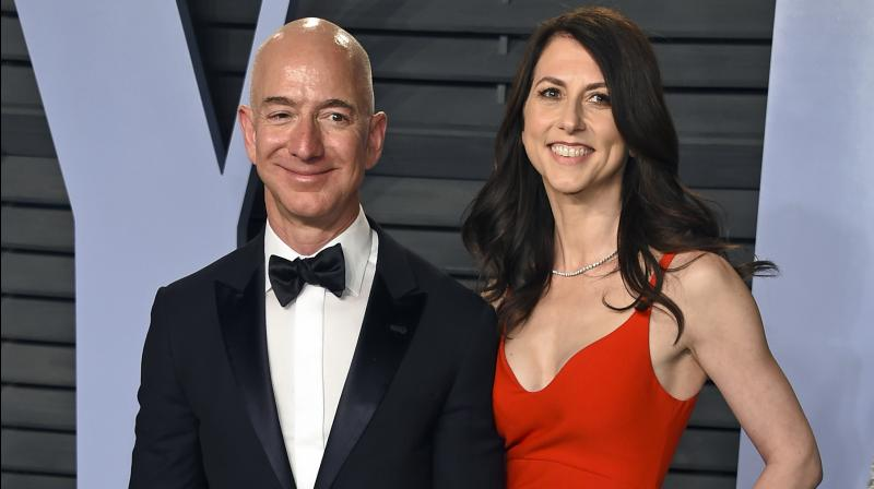 MacKenzie, 49, an author, will become the world's fourth-richest woman, and has already promised to give away at least half of her fortune, the CNN business reported.  (Photo: File)