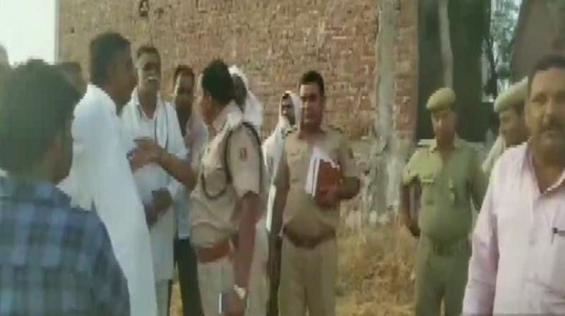 Two cases, one of a gangrape and another of murder have been registered in Harsaura police station of the district. (Photo: ANI)