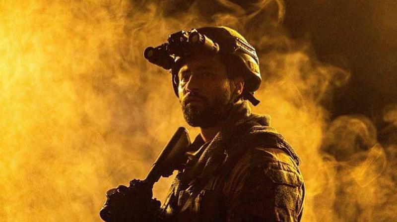 Vicky Kaushal in a still of his film URI: The Surgical Strike