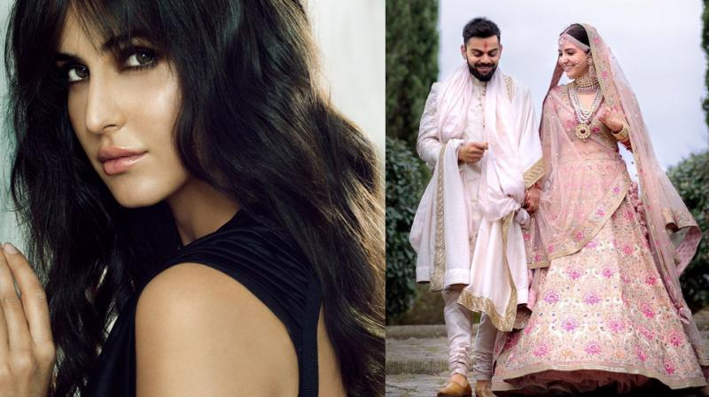 Katrina Kaif in a photoshoot; Virushka get married.