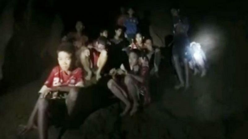 FIFA president invites Thai boys stuck in cave to World ...