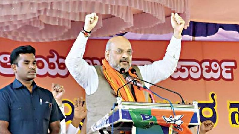 BJP President Amit Shah on Friday said that creating a situation for the return of Wing Commander Abhinandan Varthaman from Pakistan was a diplomatic victory, ahead of the expected arrival of the captured pilot. (Photo: File)