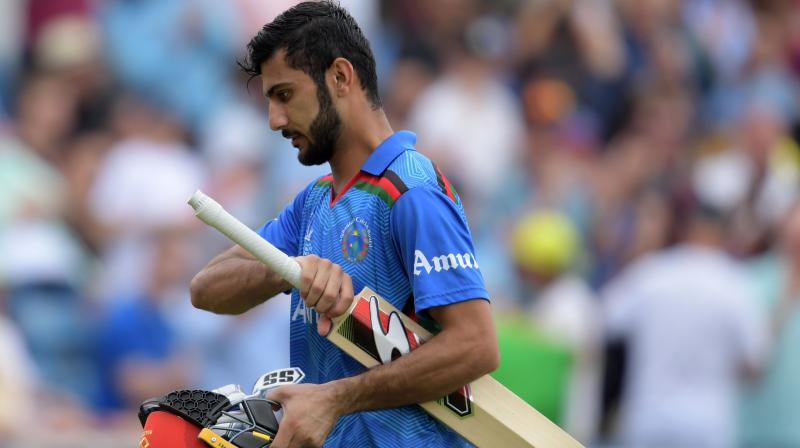 Afghanistan's wicket keeper batsman Ikram Ali Khil broke a record set by Sachin Tendulkar 27 years ago in a a World Cup match against Zimbabwe. (Photo: AFP)