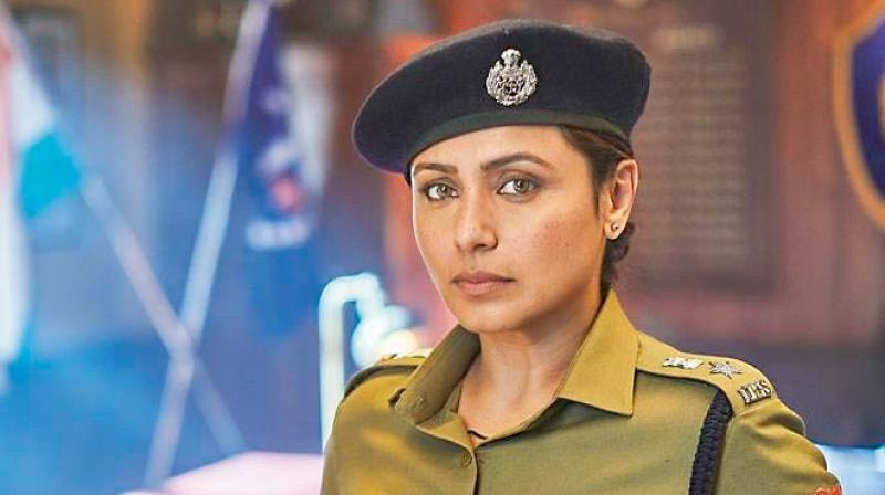 Rani Mukherjee stars in the film Mardaani 2