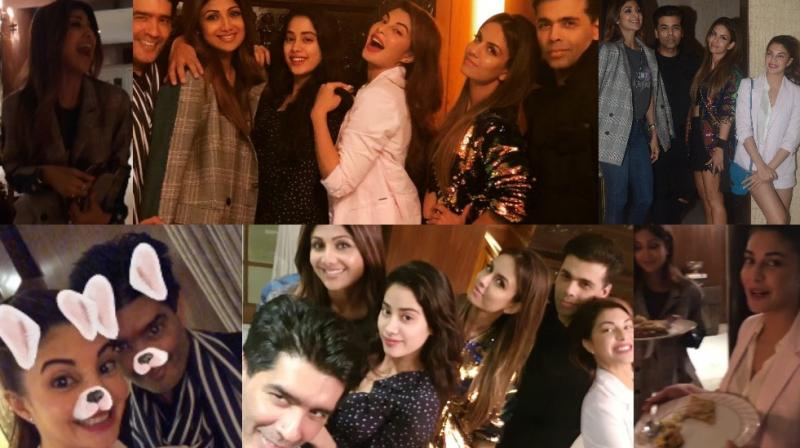Manish Malhotra hosted a bash for his friends from the film industry on Saturday and it was a lovely evening for all of them. (Photos: Viral Bhayani/ Instagram)