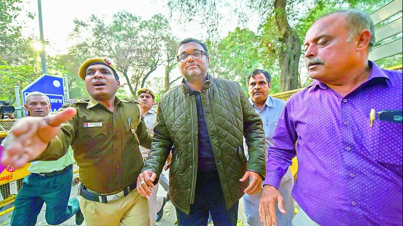 Karti produced in court, CBI seeks 14 days of custodial interrogation