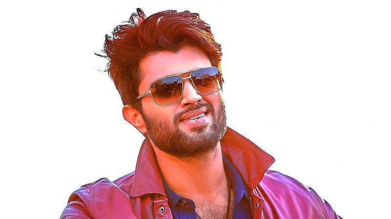 The young acting sensation has already started promotions of his upcoming film Taxiwala which is releasing on May 18.