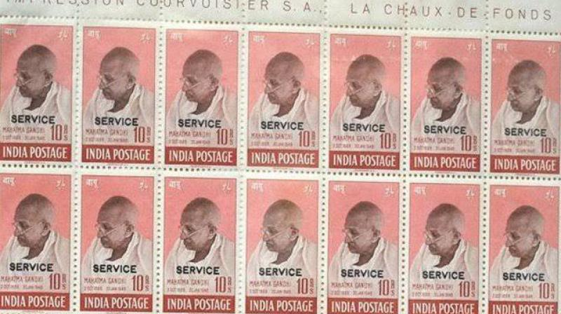 The Indian stamps were particularly rare owing to the fact they were in a set of four. (Photo: Stanely Gibbson)