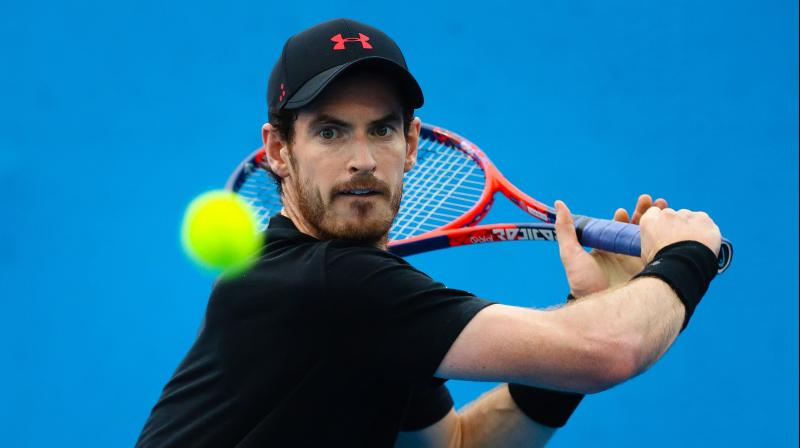 Murray had said he was not sure he could play in the singles draw at Wimbledon, a tournament he has won twice, but targeted a possible return in doubles at this year's tournament as it put less stress on his hip. (Photo: AFP / File)
