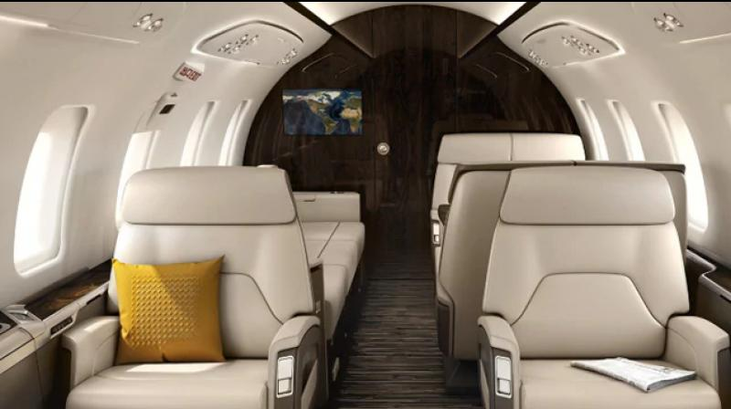 The BJP government in Gujarat has bought an aircraft worth Rs 191 crore to be used by Chief Minister Vijay Rupani and other VVIPs like the Governor and deputy chief minister, formally wrapping up the procurement process launched five years ago. (Photo: businessaircraft.bombardler.com)