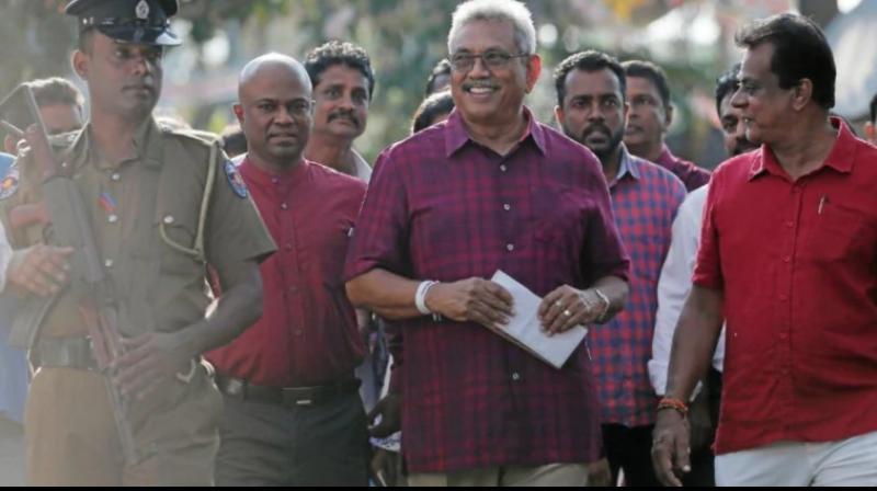 Sri Lankan President-elect Gotabaya Rajapaksa (Photo: File)