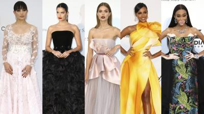 Top actors, singers from around the world graced the prestigious Cannes red carpet on Day 10.