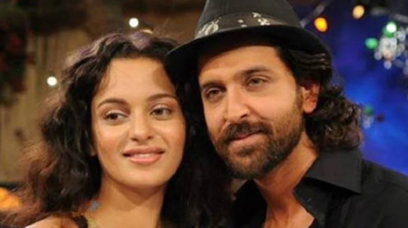 Kangana Ranaut and Hrithik Roshan worked in two films together, 'Kites' and 'Krrish 3.'