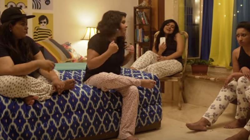 The hilarious yet informative video about a women's turmoil when she practices unsafe sex. (Photo: Youtube/AIB)