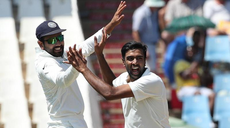 India fight back with late wickets By