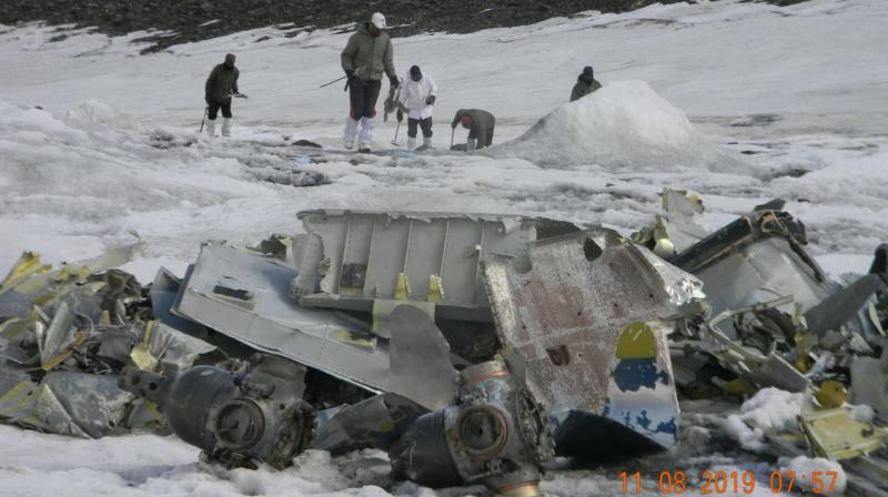 It said that the search areas including the location of recoveries have been mapped for future reference and that the expedition was joined by a team of Indian Air Force on August 6, 2019 to augment the search and identification efforts. (Photo: ANI)