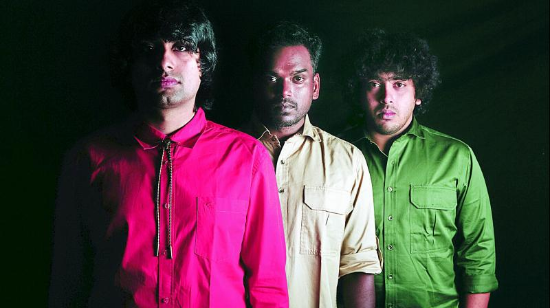 Chennai-based hard rock band Skrat believes in interconnecting their songs in concept albums to create a unique Skrat Universe, or Skratverse, as they call it, with unique characters, villains and heroes. (Photo: DC)