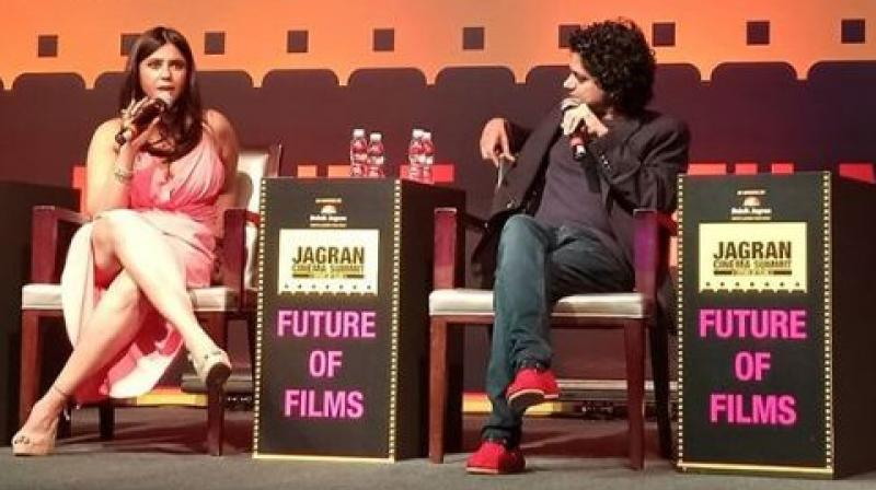 Ekta Kapoor at Jagran Film Festival.