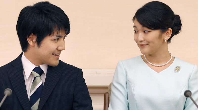 Japanese Emperor Akihito's oldest grandchild, Princess Mako, says she is getting married to her university classmate who won her heart with bright smiles and sincerity. (Photo: AP)