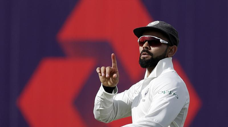Four years on, current captain Virat Kohli has an opportunity to achieve the same feat as Dhoni did as India take on England in the all-important second Test. (Photo: AFP)