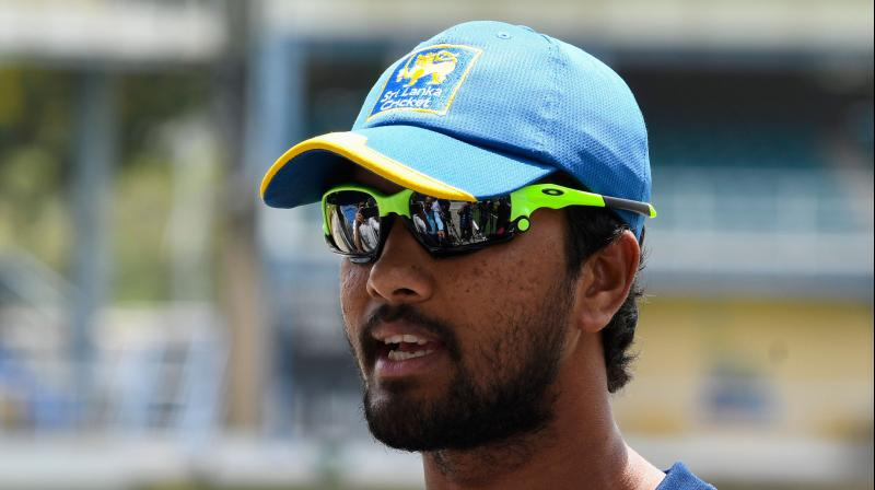 The fifth and final ODI is on Sunday, but Chandimal was not included in the squad for that match. (Photo: AFP)