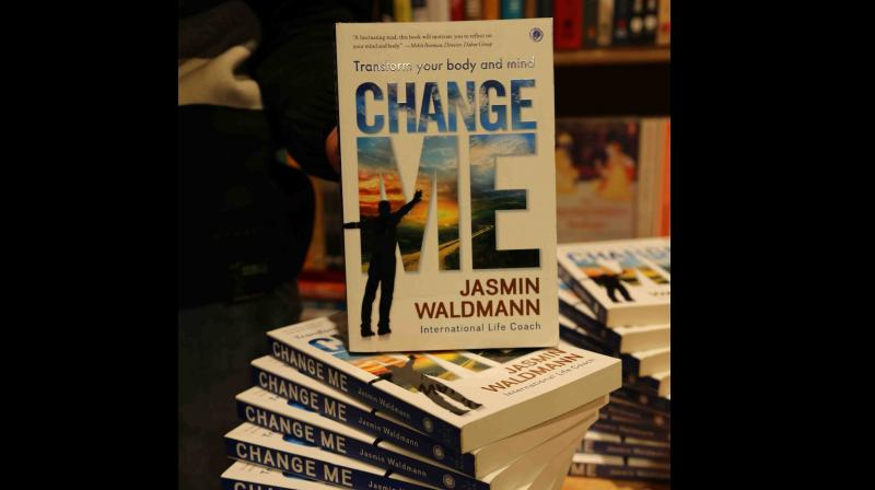 Jasmin takes readers on a journey of self-discovery and eventual transformation through the life of Amit to help them realise that change is as easy as one wants it to be. (Facebook/ Jasmin Waldmann)