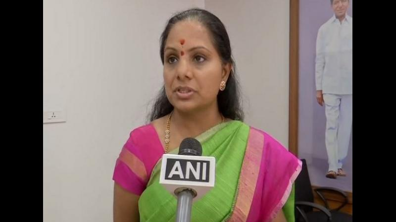 A federal front would take good shape after the Lok Sabha election results are out, Kavitha said. (Photo: ANI)