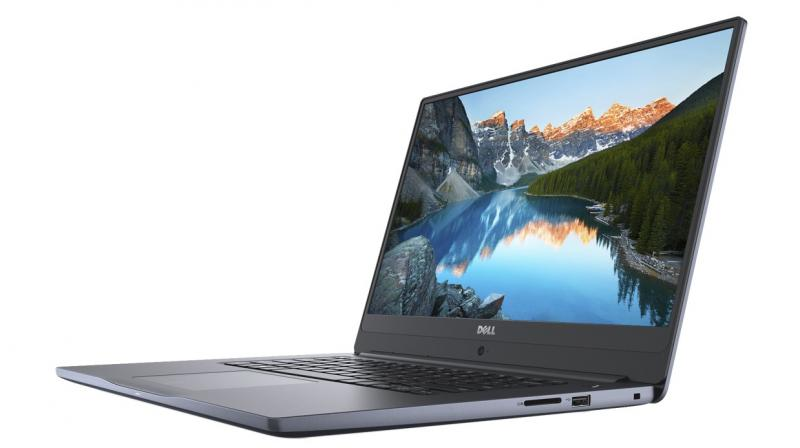 The laptop ships with Windows 10 as standard.