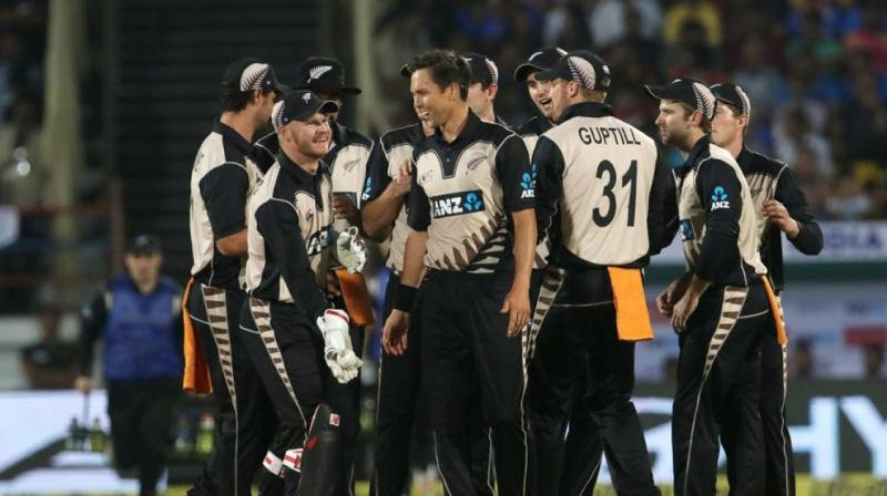 Trent Boult's spell of 4-34 helped New Zealand defeat India by 40 runs.(Photo: BCCI)