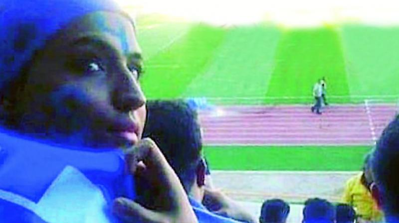"""The directive came after a fan dubbed """"Blue Girl"""" died after setting herself on fire in fear of being jailed for dressing up as a boy in order to attend a match. (Photo: File)"""