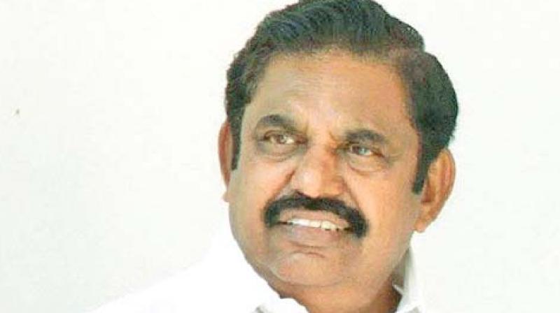 CM Edappadi K Palaniswami
