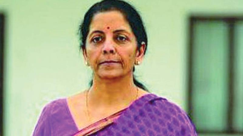 Finance Minister Nirmala Sitharaman, while talking to reporters, said states too will have to make efforts in improving the business climate in India, especially with regard to property registration. (Photo: File)