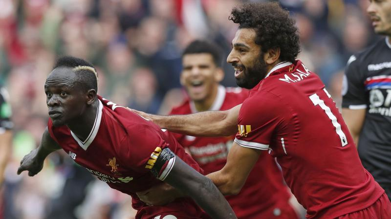 It was cruel on Liverpool, who secured 30 wins and 97 points, setting a standard that would have secured the title in any year but the last two, with Pep Guardiola's sensational City amassing 100 points 12 months ago and 98 this term. (Photo: AP)