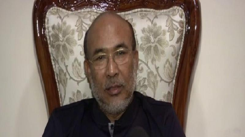'In principle, we had decided as far back as by February first week that we will withdraw support from the BJP-led government in Manipur,' NPF spokesperson Achumbemo Kikon. (Photo: ANI)