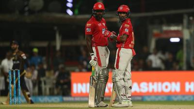 Chris Gayle and Lokesh Rahul have got the Kings to a good start. (Photo: BCCI)