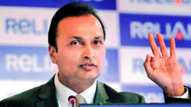Reliance group stocks drop after court order on RCom chairman