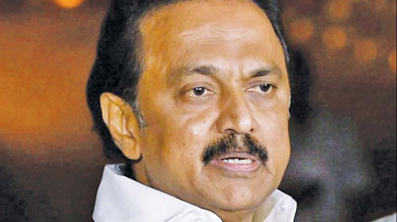 DMK chief MK Stalin, whose party led the UPA alliance including Congress in Tamil Nadu, on Tuesday batted for the continuance of Rahul Gandhi as the Congress president. (Photo: File)