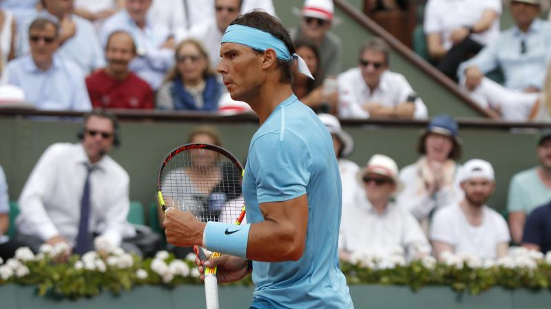 Nadal is the defending champion of the tournament, and a win will take his Grand Slam win tally to 16 titles.(Photo: AP)