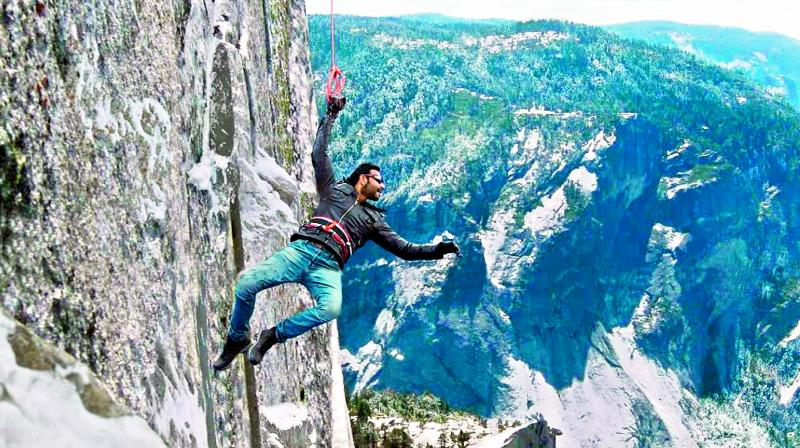 Cliffhanger: Ajay Devgn's action-thriller Shivaay featured lots of visual effects.