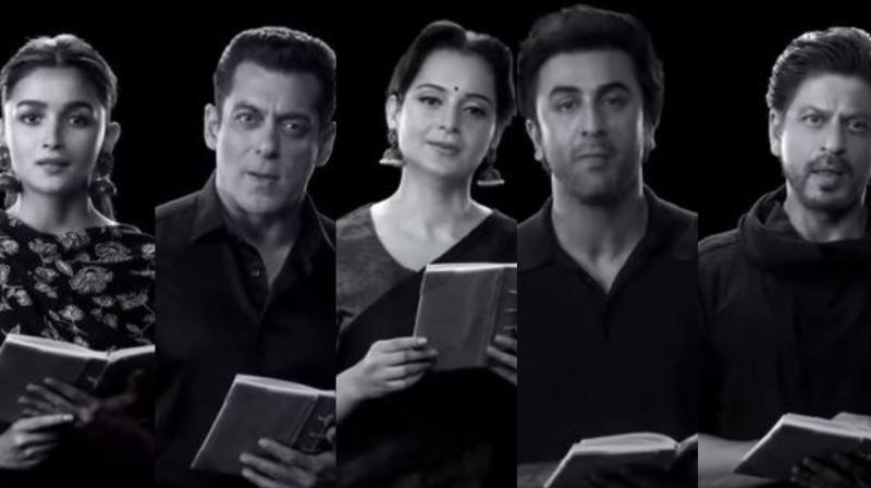 Screen grab from the video. (Courtesy: Youtube/ Rajkumar Hirani Films)