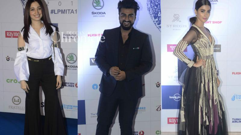 Several Bollywod celebrities were present at the Lonely Planet Travel Awards held in Mumbai on Thursday. (Photo: Viral Bhayani)