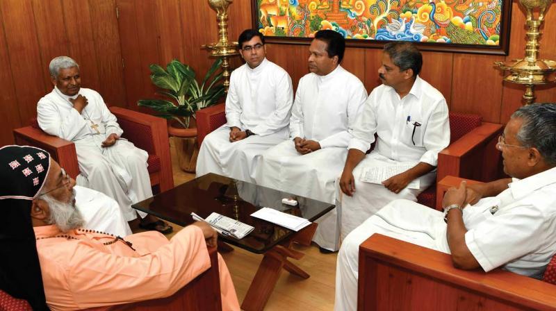 No plan to control churches, says Kerala CM Pinarayi Vijayan