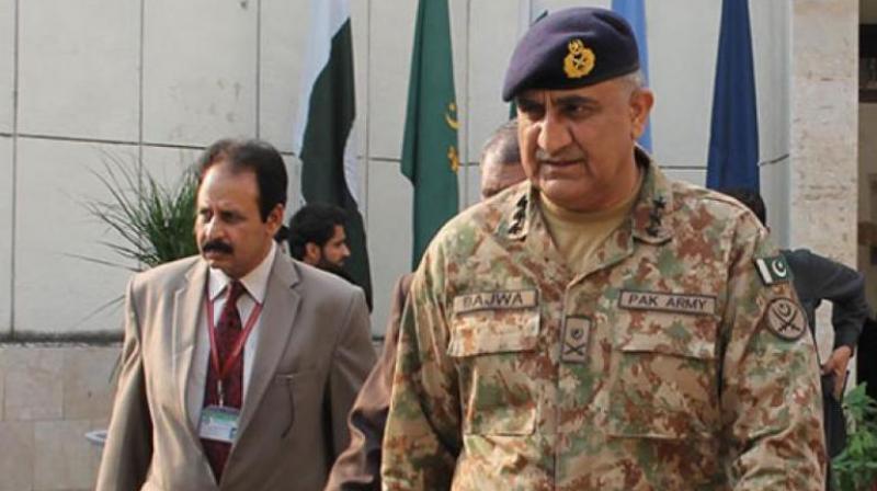 Pakistan's new army chief General Qamar Javed Bajwa. (Photo: video grab)
