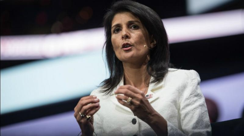 A spokesman for Haley said plans to buy the curtains were made in 2016 during the Obama administration and Haley had no say in the purchase. (Photo: File)
