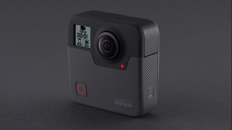 The GoPro Fusion 360-degree camera is priced at Rs 60,000.