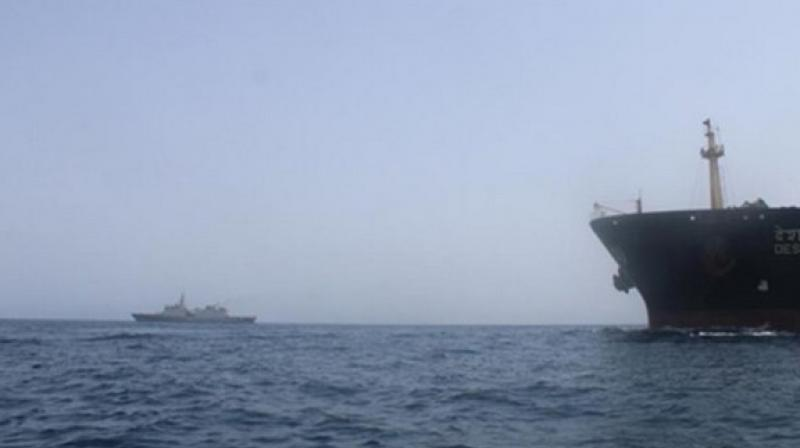 'The two ships, backed by surveillance aircraft, will not be part of a military coalition that the United States is assembling to safeguard the waters off Iran near the Straits of Hormuz, through which a fifth of the world's oil moves,' the official said. (Photo: Representational I File)